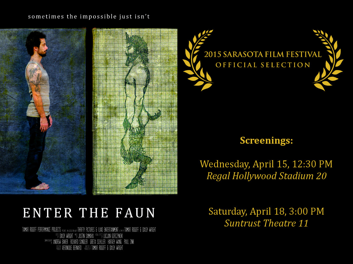 Enter The Faun Premieres At The Sarasota Film Festival